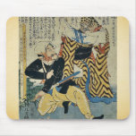 Historia de amor absurda por Utagawa, Yoshitoyo Uk Alfombrilla De Raton