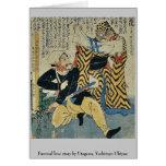 Historia de amor absurda por Utagawa, Yoshitoyo Uk Tarjeta