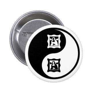 Historia de arte de Yin Yang Pins