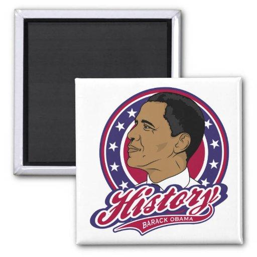 Historia de Barack Obama Imán De Frigorifico