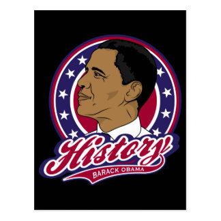 Historia de Barack Obama Tarjetas Postales