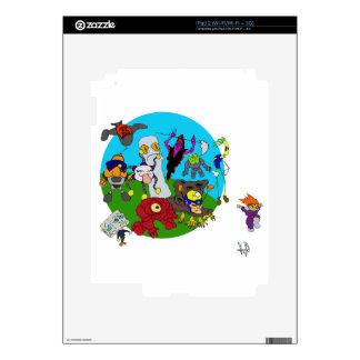 Historia de Chibi Ninja Calcomanías Para El iPad 2