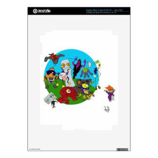 Historia de Chibi Ninja iPad 3 Skins