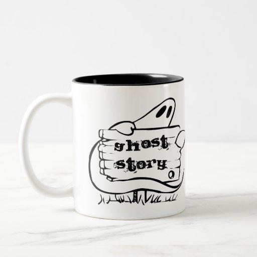 Historia de fantasmas tazas de café