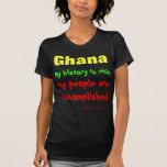 Historia de Ghana Camisetas