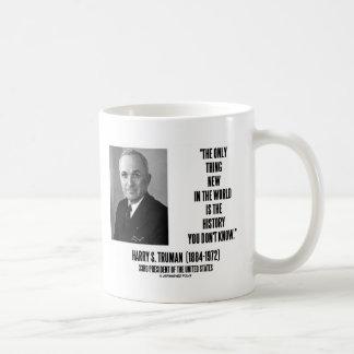 Historia de la cosa de Harry Truman solamente nuev Taza