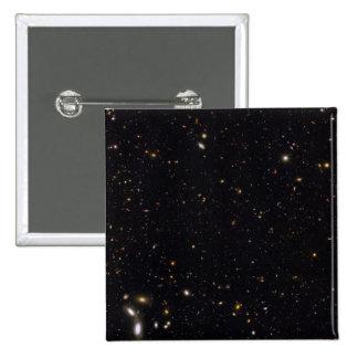 Historia de la galaxia reveladora por el Hubble Pin Cuadrado