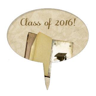 Historia de la graduación, del casquillo de la decoración de tarta