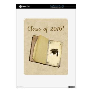 Historia de la graduación, del casquillo de la skins para eliPad