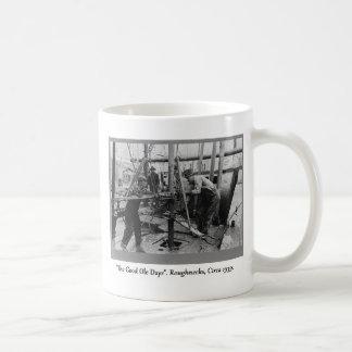 Historia de la perforación petrolífera, matones tazas de café