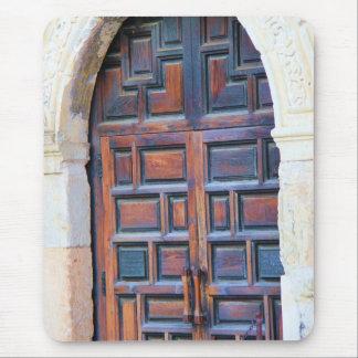 Historia de la puerta de San Antonio Tejas Álamo Alfombrillas De Ratones