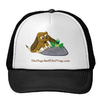 historia de la rana del beagle del dibujo animado gorras de camionero