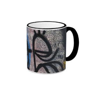 Historia de las pintadas taza de café