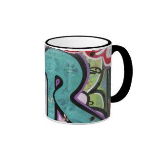 Historia de las pintadas taza de dos colores