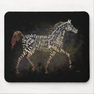 Historia de los regalos del caballo y de los casos mousepad