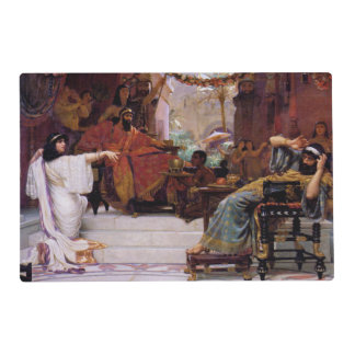 Historia de Purim Tapete Individual