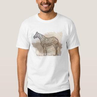 Historia del caballo cuarto americano en Typograph Camisas