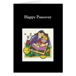 Historia del Passover Tarjeta De Felicitación