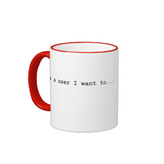 Historia del usuario - café de la bebida taza de dos colores