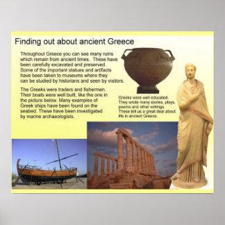 Historia, descubriendo sobre Grecia antigua Impresiones