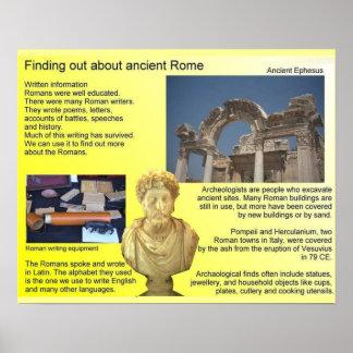 Historia, descubriendo sobre Roma antigua Poster