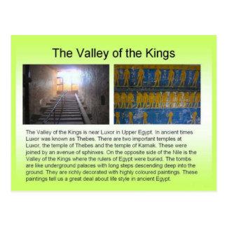 Historia, Egipto antiguo, valle de los reyes Tarjeta Postal