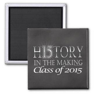 Historia en la fabricación, clase de la graduación imán de frigorifico