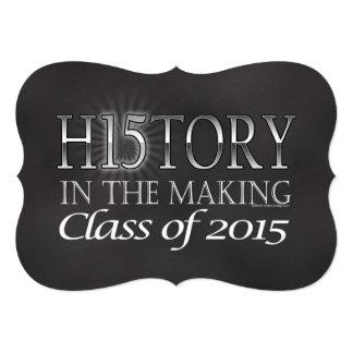 Historia en la fabricación, clase de la graduación