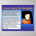 Historia, exploración, príncipe Henry el navegador Posters