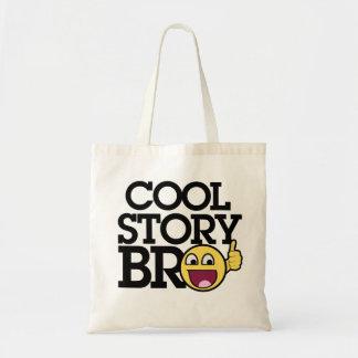 Historia fresca Bro Bolsa Tela Barata
