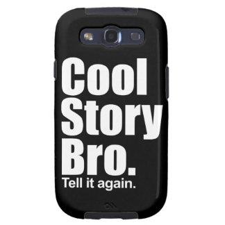 Historia fresca Bro. Caja de la galaxia de Samsung Samsung Galaxy S3 Carcasas