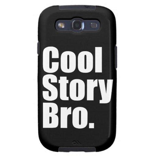 Historia fresca Bro. Caja de la galaxia de Samsung Galaxy S3 Coberturas