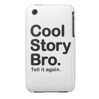Historia fresca Bro. Caso del iPhone 3 de Barely iPhone 3 Cárcasa