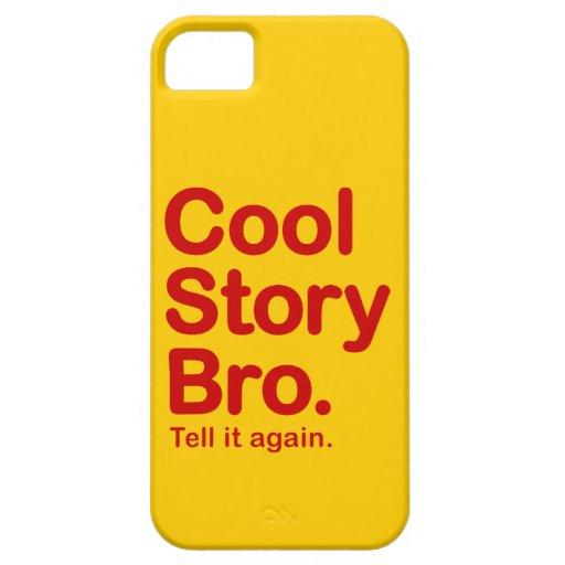 Historia fresca Bro. caso del iPhone 5 Funda Para iPhone SE/5/5s