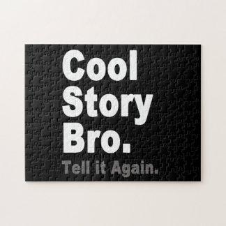 Historia fresca Bro. Dígalo otra vez. Internet div Puzzle