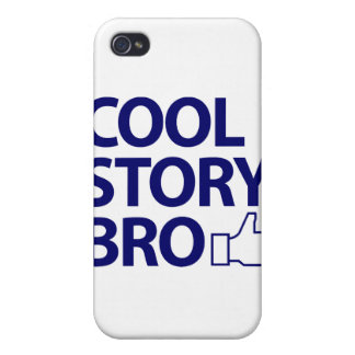 Historia fresca Bro iPhone 4 Carcasa