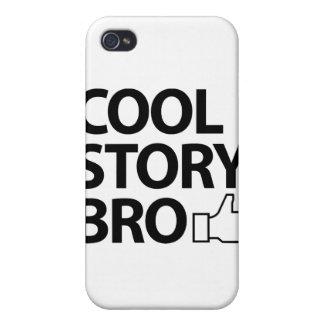 Historia fresca Bro iPhone 4 Fundas