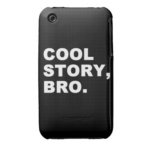 Historia fresca Bro Funda Para iPhone 3 De Case-Mate