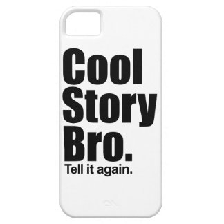 Historia fresca Bro. iPhone 5 Carcasa