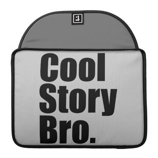 "Historia fresca Bro. Mac favorable 13"" manga de la Funda Para Macbooks"