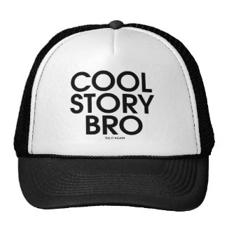 Historia fresca Bro Meme Gorras De Camionero