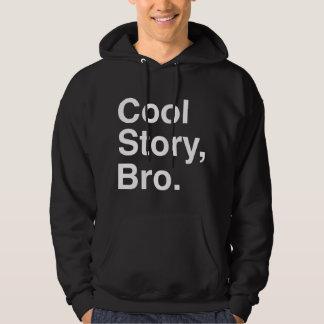 Historia fresca Bro, oscuro Jersey Con Capucha