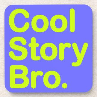 Historia fresca Bro. Práctico de costa del corcho Posavasos De Bebidas