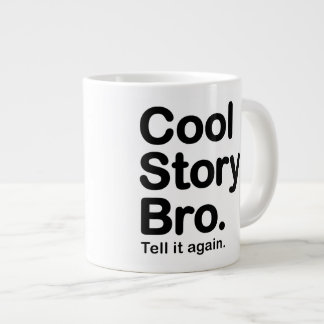 Historia fresca Bro. Taza Tazas Extra Grande