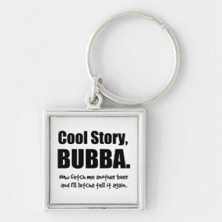 Historia fresca, Bubba Llaveros Personalizados
