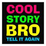 Historia fresca de neón Bro Comunicados