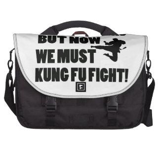 Historia fresca pero ahora debemos lucha de Kungfu Bolsas Para Ordenador