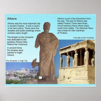 Historia Grecia antigua Atenas Posters