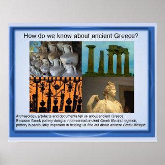 ¿Historia Grecia antigua cómo sabemos Impresiones