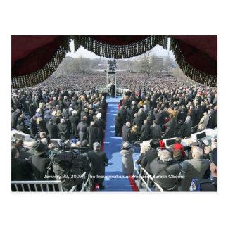 HISTORIA: Inauguration Speech de presidente Obama Tarjetas Postales
